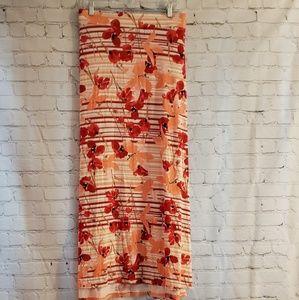 Lane Bryant Maxi Skirt Sz 26/28